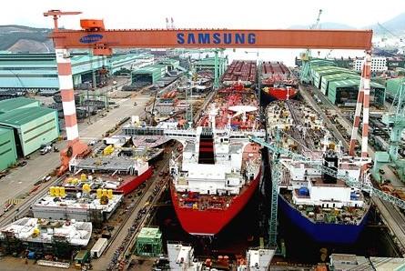 Schiffswerft Samsung Heavy Industries setzt auf Schmezsalzreaktoren