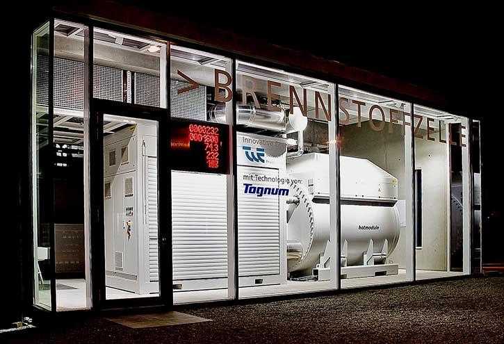 Brennstoffzelle der Tognum-Tochtergesellschaft CFC Solutions GmbH