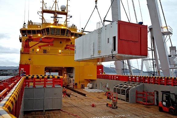 """Norwegischen Versorger """"Viking Lady"""" mit MTU Onsite Energy zur Ergänzung der Bordstromversorgung"""