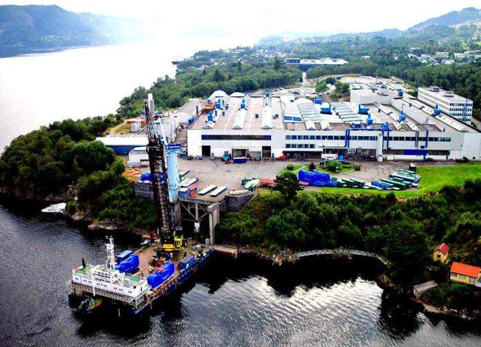 Die Heimat von Bergen Engines in Hordvikneset